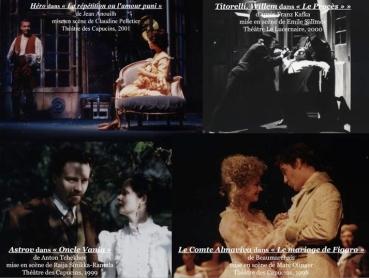 La répétition ou l'amour puni:Le procès:Oncle Vania:Le mariage de Figaro